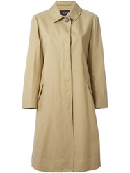 Isabel Marant Classic Trench Coat Nude And Neutrals