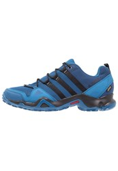 Adidas Performance Terrex Ax2r Gtx Walking Shoes Core Blue Core Black Mystery Blue
