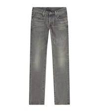 Tom Ford Slim Straight Jeans Male Grey