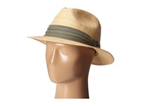 Tommy Bahama Matte Raffia Safari With 3 Pleat Cotton Band Natural Safari Hats Beige