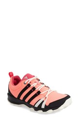 Women's Adidas 'Trail Rocker' Trail Running Shoe Glow Black Blush