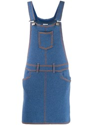Barrie Denim Pinafore Dress 60