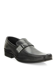 Kenneth Cole Reaction Money Down Bicycle Toe Loafers Black
