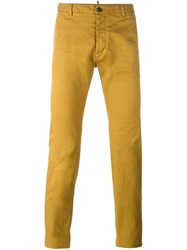 Dsquared2 Slim Fit Chinos Brown