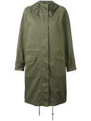 Won Hundred Amara Jacket Green