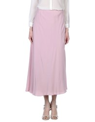 Maurizio Pecoraro Skirts Long Skirts Women Light Pink