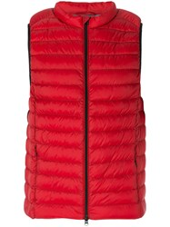 Ecoalf Cardiff Gilet Red