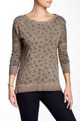 Casual Studio Tunic Pullover Brown