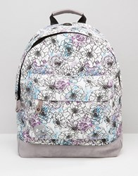 Mi Pac Premium Backpack In Unfinished Floral Multi