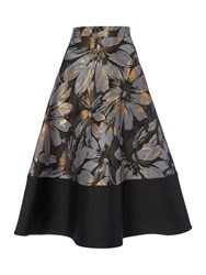 Linea Jacquard Full Skirt Multi Coloured Multi Coloured