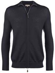 N.Peal The Hyde Zip Up Sweatshirt Grey