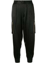 Atm Anthony Thomas Melillo Pull On Cargo Trousers Black