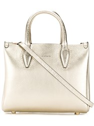 Lanvin Mini Journee Tote Bag Gold