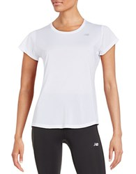 New Balance Accelerate Tee White