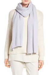 Eileen Fisher Women's Recycled Cashmere And Lambswool Scarf India Sky