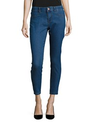 Noisy May Skinny Ankle Jeggings Blue
