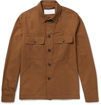 Private White V.C. Cotton Twill Jacket Tan