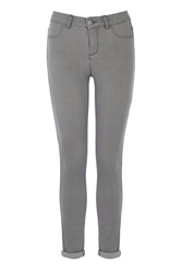 Oasis Pale Grey Jade Crop Jeans
