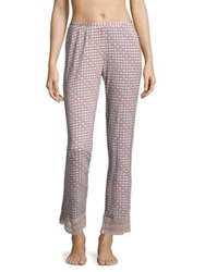 Saks Fifth Avenue Lori Geometric Pants Modern Geo Mandorla