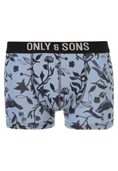 Only And Sons Onssam Shorts Faded Denim Blue
