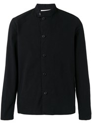 Stephan Schneider Shirt Jacket Men Cotton S Black