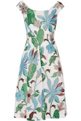 Tory Burch Wisteria Fil Coupe Dress Multi