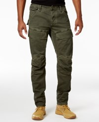 G Star Raw Men's 5620 Air Defense 3D Slim Fit Cargo Pants Shamrock