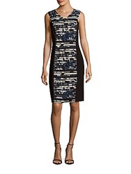 Lafayette 148 New York Camille Sleeveless Dress Black