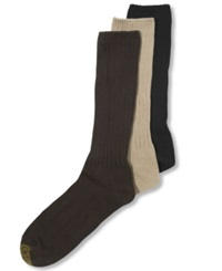 Gold Toe Goldtoe Men's Socks Northport Crew Sock Black