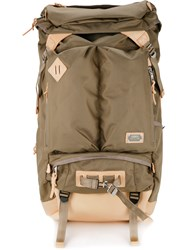 As2ov Ballistic Nylon 2Pocket Backpack Nylon Brown