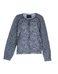 Maison Scotch Coats And Jackets Jackets Women Blue