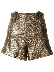 Andrea Bogosian Shorts Riley Bg Gold