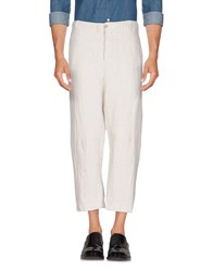 Forme D'expression Casual Pants Light Grey