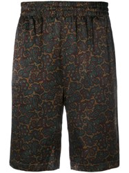 Stussy Printed Style Shorts Green