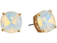 Tory Burch Set Crystal Studs Earrings White Opal Tory Gold