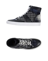 Trussardi High Tops And Trainers Steel Grey