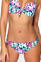 Boohoo Mix And Match Neon Print Brief Multi