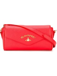 Vivienne Westwood 'Divina' Flap Bag Red
