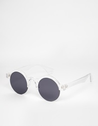 Spitfire Clubmaster Sunglasses Clear