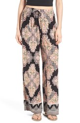 Women's Band Of Gypsies Paisley Print Woven Pants