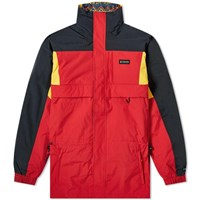Columbia Gizzmo Interchange Parka Red