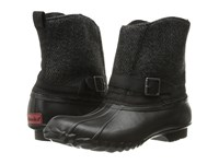 Chooka Step In Duck Boot Herringbone Black Women's Rain Boots