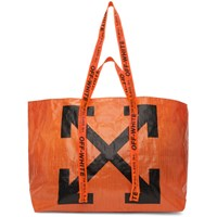 Off White Orange New Commercial Tote