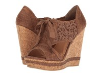 Not Rated Addilyn Tan Women's Wedge Shoes