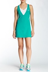 Asics Racket Dress And Short Set Green