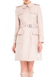 Leon Max Belted Trench Coat