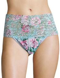 Hanky Panky Floral Lace High Waisted Panties Multicolor
