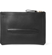 Tom Ford Full Grain Leather Portfolio Black