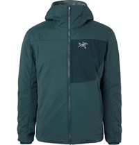 Arc'teryx Proton Lt Padded Quilted Shell Hooded Jacket Green