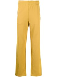 Acne Studios Straight Leg Jogging Trousers Yellow